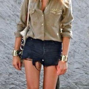 🆕Sneak Peek Denim Shorts